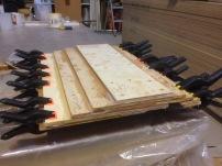 Rudder laminations