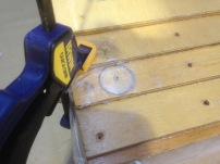 Plug repair after removing broken screw
